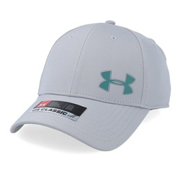 bd664ccc Under Armour Men´s Golf Headline Cap 3.0 Grey/Teal Flexfit - Under Armour  £19.99