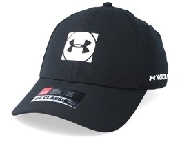 Men´s Official Tour Cap 3.0 Black/White Flexfit - Under Armour