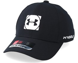 Kids Official Tour Cap 3.0 Black Flexfit - Under Armour