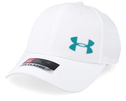 Men's Golf Headline Cap 3.0 White Flexfit - Under Armour
