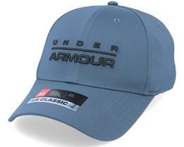 Wordmark Str  Wire/Black Flexfit - Under Armour