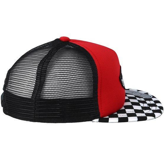 Kids Classic Patch Racing Red Trucker - Vans - Start Gorra - Hatstore f92a37950e0