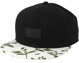 Allover It Black/Rubber Snapback - Vans