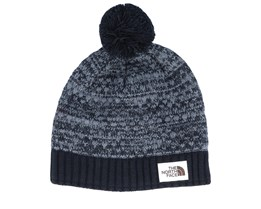 Antlers Dark Heather Grey/Black Pom - The North Face