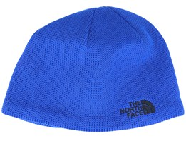 Kids Bones Recycled Blue Traditional Beanie - The North Face