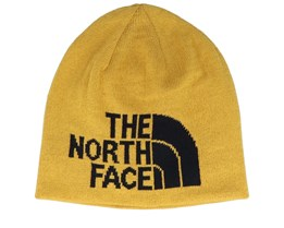 Highline Reversible Golden Spice/Black Traditional Beanie - The North Face