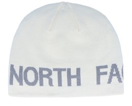 Reversible TNF Banner Vintage White/Midnight Grey Traditional Beanie - The North Face