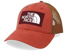 Mudder Picante Red/Camel Trucker - The North Face