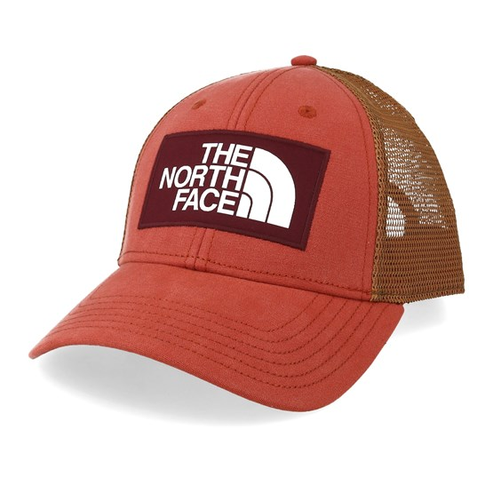 North Face Keps Mudder Picante Red/Camel Trucker - The North Face - Röd Trucker