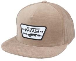 Full Patch Dirt Snapback - Vans