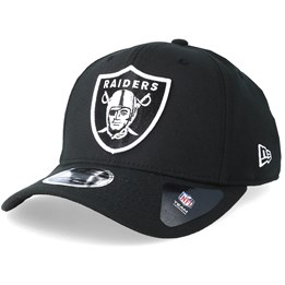 New Era Oakland Raiders Stretch Snap 9Fifty Black White Snapback- New Era  34 46419737e25