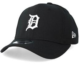 6de9484a708 Detroit Tigers Stretch Snap 9Fifty Black White Snapback- New Era