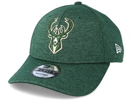 Milwaukee Bucks 9Forty Shadow Tech Green Adjustable - New Era