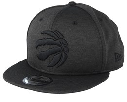 Toronto Raptors Shadow Tech 9Fifty Black/Black Snapback - New Era