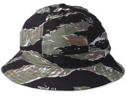 Premium Explorer Black/Green Camo Bucket - New Era