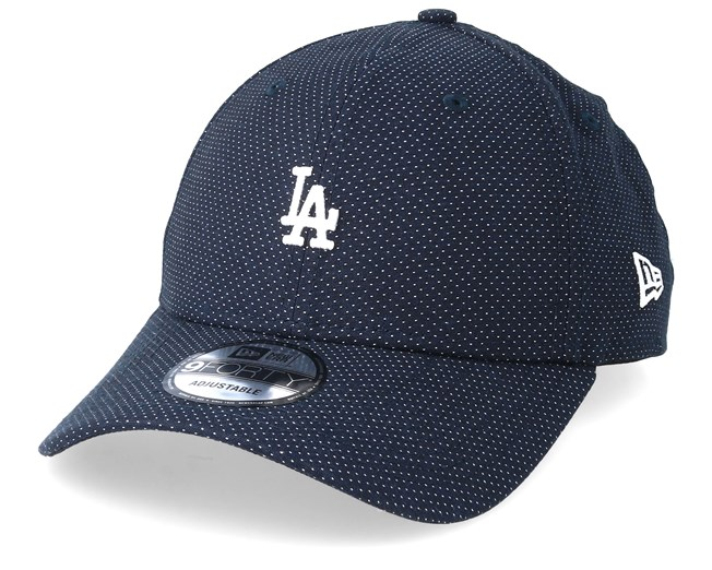 b280a441 Los Angeles Dodgers Polkadot 9Forty Navy/White Adjustable - New era ...