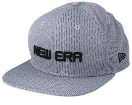 Rain Camo Grey Snapback - New Era