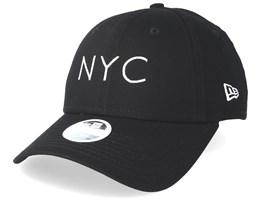 NYC Women Essential 9Forty Black Adjustable - New Era