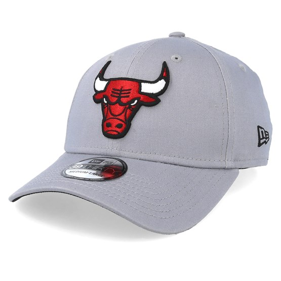 Chicago Lighting Stores: Chicago Bulls Team 39Thirty Light Grey Flexfit