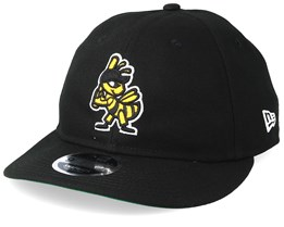 Salt Lake Bees Retro Crown 9Fifty Black Snapback - New Era