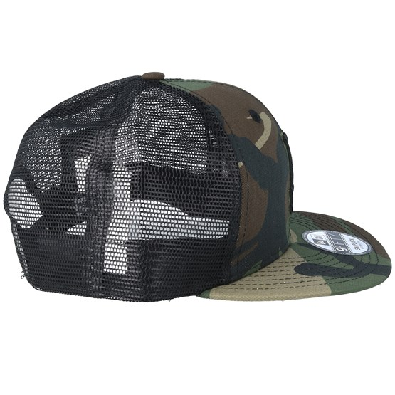 new styles 9d1b0 6bd8e Los Angeles Dodgers League Essential Team 9Fifty Camo Black Trucker - New  Era caps   Hatstore.co.uk