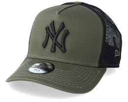 Kids New York Yankees League Essential Dark Green/Black Trucker - New Era