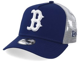 Kids Boston Red Sox League Essential Royal/White Trucker - New Era