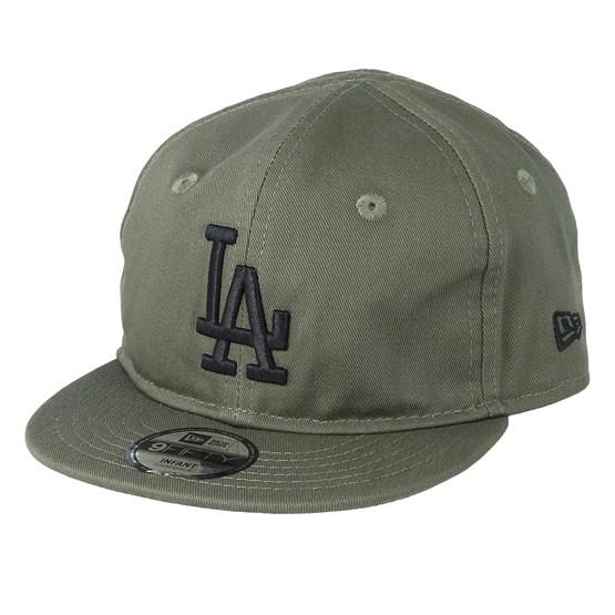 Keps Kids Los Angeles Dodgers Infant League Essential 9Forty Green/Black Snapback - New Era - Grön Barnkeps