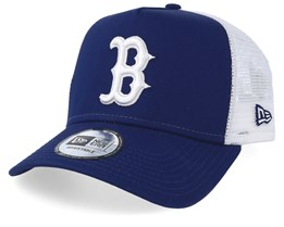 Boston Red Sox League Essential Navy/White Trucker - New Era