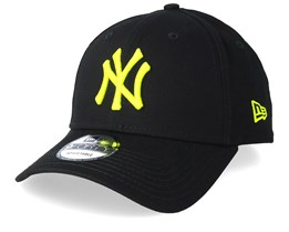 New York Yankees League Essential 9Forty Black/Neon Adjustable - New Era