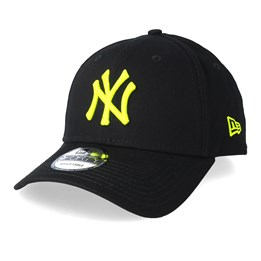 f3e613ced New York Yankees League Essential 9Forty Black/Neon Adjustable - New Era
