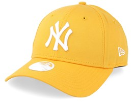 New York Yankees Women League Essential 9Forty Yellow/White Adjustable - New Era