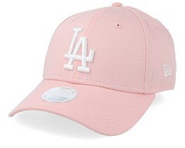 9aa472798442b Los Angeles Dodgers Women League Essential 9Forty Pink White Adjustable - New  Era