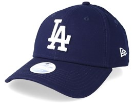 3222b4231f519 Los Angeles Dodgers Women League Essential 9Forty Navy White Adjustable - New  Era