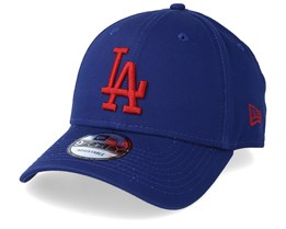 Los Angeles Dodgers League Essential 9Forty Navy/Red Adjustable - New Era