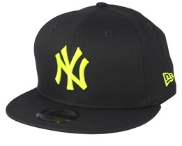 New York Yankees League Essential 9Fifty Black/Neon Snapback - New Era