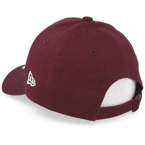 Kids New York Yankees League Essential 9Forty Dark Maroon White Adjustable  - New Era caps - Hatstoreworld.com 107dc5854260