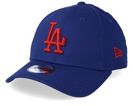 Kids Los Angeles Dodgers League Essential 9Forty Dark Blue/Red Adjustable - New Era