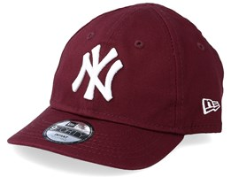 Kids New York Yankees Infant Essential 9Forty Maroon/White Adjustable - New Era
