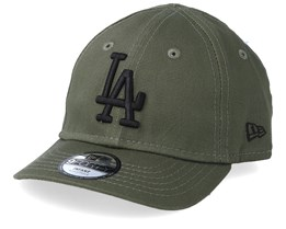 bc02e7a46419e Kids Los Angeles Dodgers Infant Essential 9Forty Dark Green Black  Adjustable - New Era
