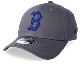 Boston Red Sox League Essential 39Thirty Dark Grey/Blue Flexfit - New Era