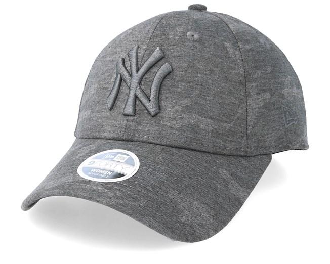 93872bdef New York Yankees Jersey 9Forty Dark Grey Adjustable - New Era caps -  Hatstoreworld.com