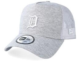 Detroit Tigers Essential Jersey E-Frame Heather Grey/Grey Trucker - New Era