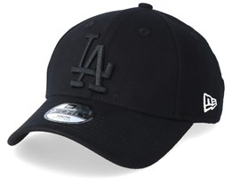 Kids Los Angeles Dodgers Essential Jersey 9Forty Black/Black Adjustable - New Era