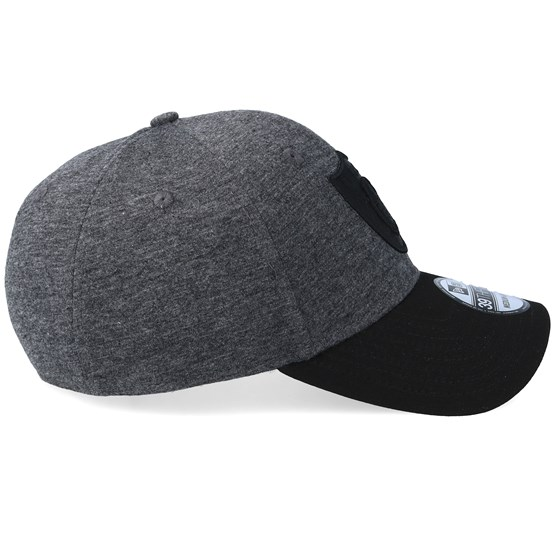 76245882b2a8a Oakland Raiders Essential Jersey 39Thirty Black Black Flexfit - New Era caps