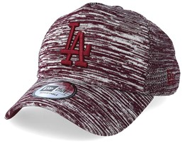 Los Angeles Dodgers Engineered Fit A-Frame Maroon/White Adjustable - New Era