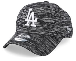 Los Angeles Dodgers Engineered Fit 9Forty Heather Black/White Adjustable - New Era