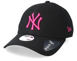 New York Yankees Diamond Era 9Forty Black/Dark Pink Adjustable - New Era