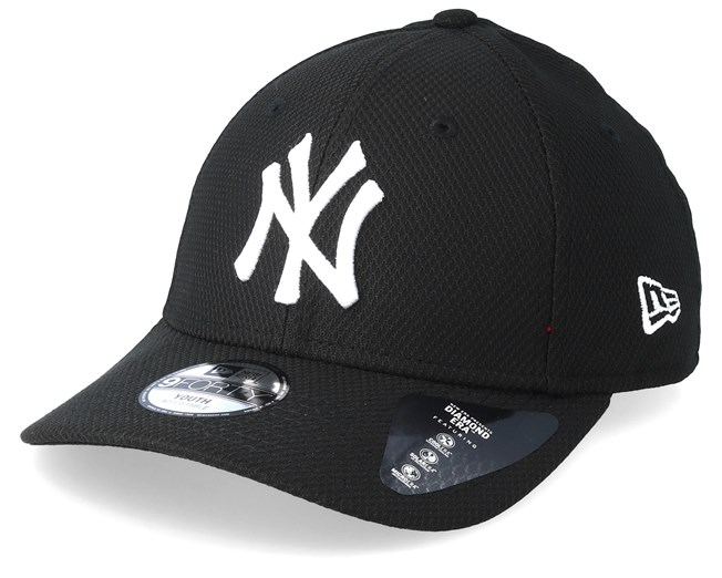 d824bd51a29 Kids New York Yankees Diamond Era 9Forty Black Adjustable - New Era ...