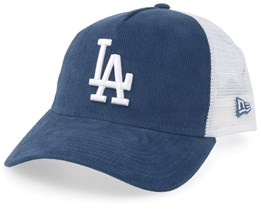 Los Angeles Dodgers Cord Brights Slate/White Trucker - New Era